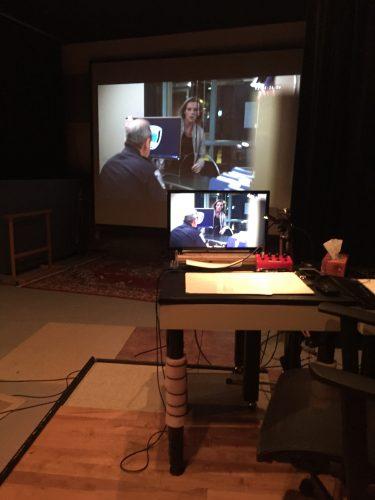 studio set up for Voice over Dubbing