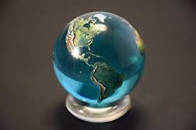 glass globe Earth international voice over