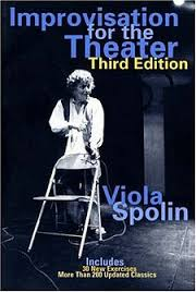 Viola Spolin - voice acting improv book reference