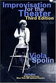 Viola Spolin - voice acting improv book reference