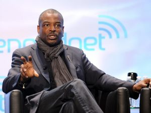actor LeVar Burton speaks Kim Handysides Voice over