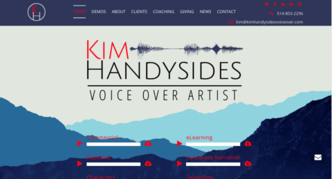 "This is how ""voice actor websites"" can rock your w-w-world"