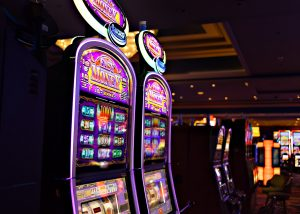 casino machines voice over in games