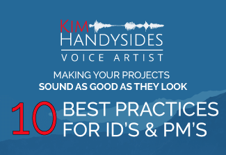 Kim-Handysides-Award-Winning-Female-Voice-Over-Artist-10 best practices for id's & pm's