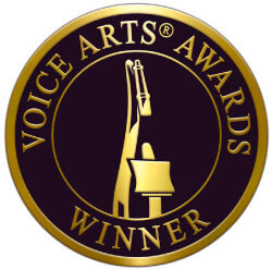 Kim Handysides-Award Winning Female Voice Over Artist-Tag-Talent-Award-Logo