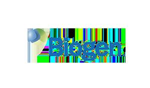 Kim Handysides Voice Over Artist Biogen logo